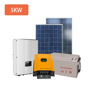 Off Grid 5KW Home Solar Panel System Solar Energy Systems 5000W