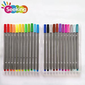High quality EN471 and ASTM Wholesale Customized Color Gel Pen Fine Line Markers