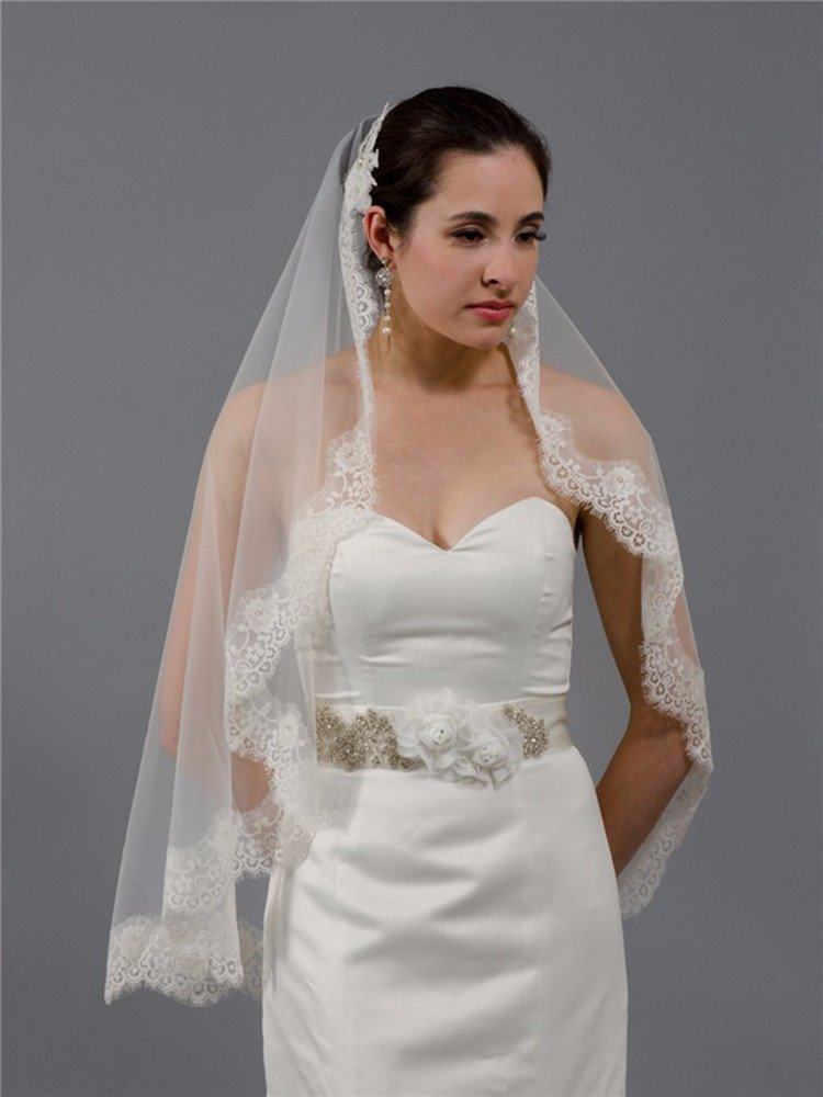 Cheap Lace Wedding Veils And Headpieces, find Lace Wedding Veils And ...