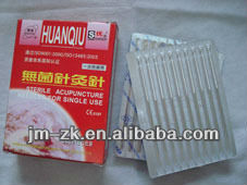 Huanqiu brand 2016 acupuncture needle for single use