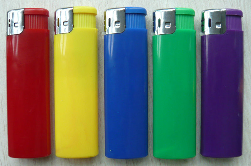 piezo children resistant lighter-Butance Gas Lighter