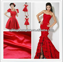 Silk Polyester Wedding Dress Fabric | Satin Fabric For Women