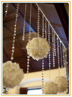 wedding decorations crystal bead curtain chains party favors