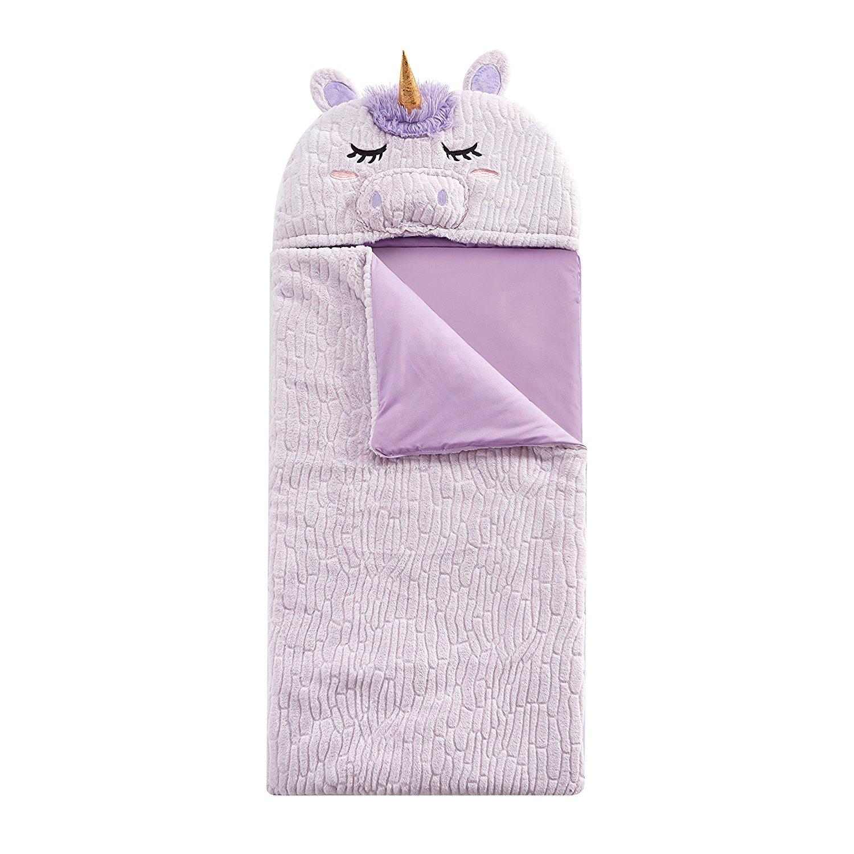 3b5d7125dc Get Quotations · L M Kids Girls Pink Unicorn Themed Sleeping Bag Toddler