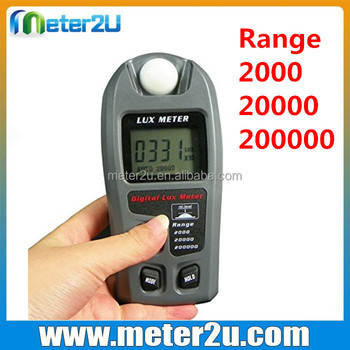Exceptional LCD Display Lue Meter 200000 Measuring Light Intensity
