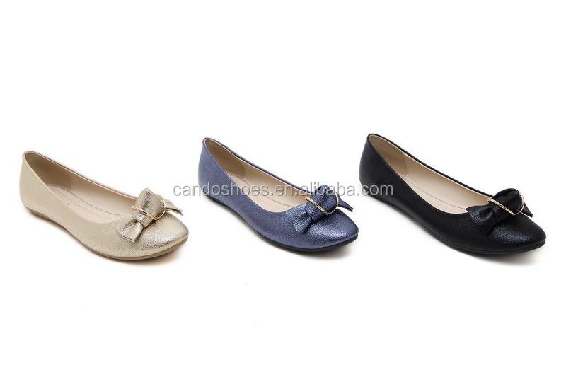 9ab2a89e147 Sell Well Latest Fashion Women Pu China Cheap Ladies Flat Shoes ...