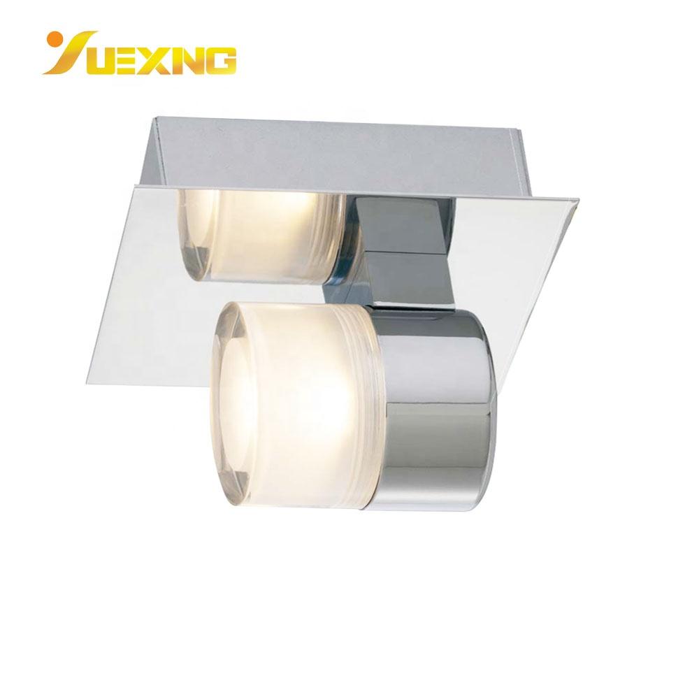 Bathroom LED Light IP44 5W COB LED Wall Custom Lamp With Acrylic Lamp Shade Crystal Iron Wall Lighting