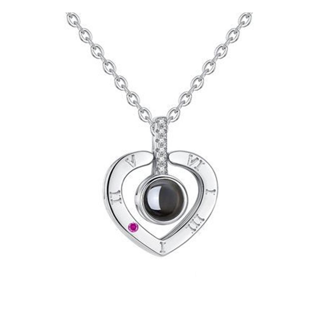 <strong>Fashion</strong> round smart necklace beauty jewelry design for women