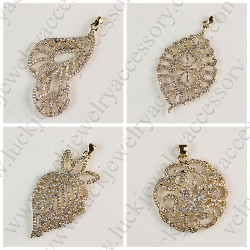 Very Beautiful Fashion Leaf Design Fillagree Gold Plating Latest ...