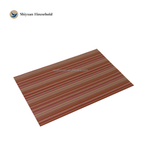 wooden placemats solid color placemats eva non slip drawer mat anti slip table mat