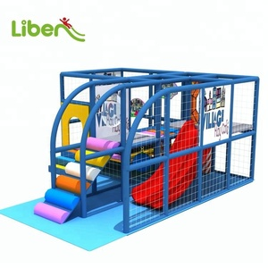 New Design Small Kids Play Center Indoor Playground Equipment