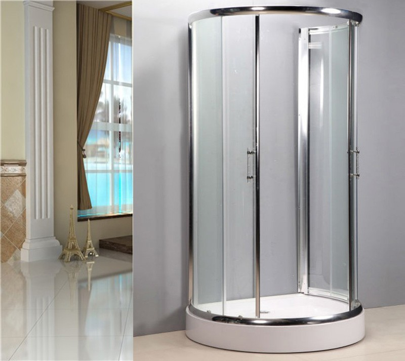 807 Small Round Shower Enclosure Cabinet For Bathroom