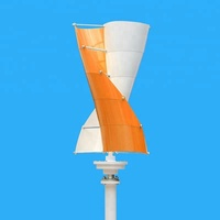Spiral Wind Power 12v Mini Vertical Axis Wind Turbine