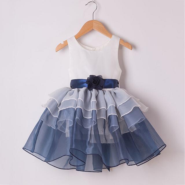 Aged 2 9 Summer Fancy Dress Girls Cake Dress Party Dress