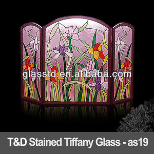 stained tiffany glass for screen