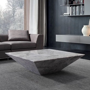 Modern design natural marble coffee table