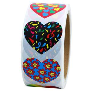 Valentine's Day Heart Stickers Labels Party Decorations Favors Gifts Supplies