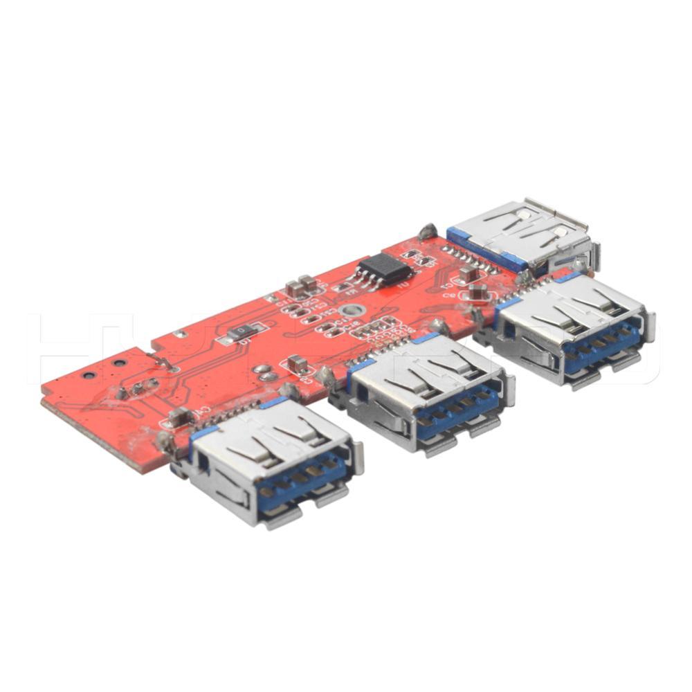 2 4 6 Multilayer 4 Port Usb Type-c 3.0 Hub 94v0 Integrated Circuit ...