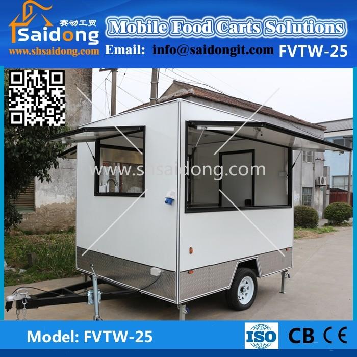 Rimorchio Catering/cucina Mobile Camion Per La Vendita/cibo Servizio ...