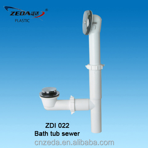 bathtub sewer waste/Bathtub Drainage/bath tub basin traps/