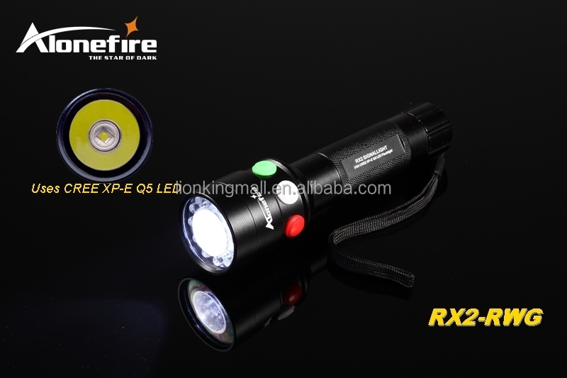 Rx2 Q5 Alonefire Led Avec Blanc Ferroviaire Poche Xpe Rouge Signal 18650 Rwg Lampe Vert Torches Chargeur Buy Rechargeable Cree Batterie De rCxeoBd