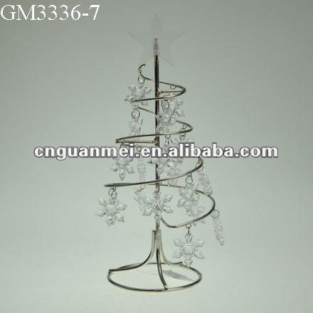 metall weihnachtsbaum spirale mit kleinen kunststoff. Black Bedroom Furniture Sets. Home Design Ideas