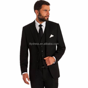 New Style Men Suits Wool Blended Groomsmen Groom Latest Coat Pant Designs Tuxedos Wedding Best Man