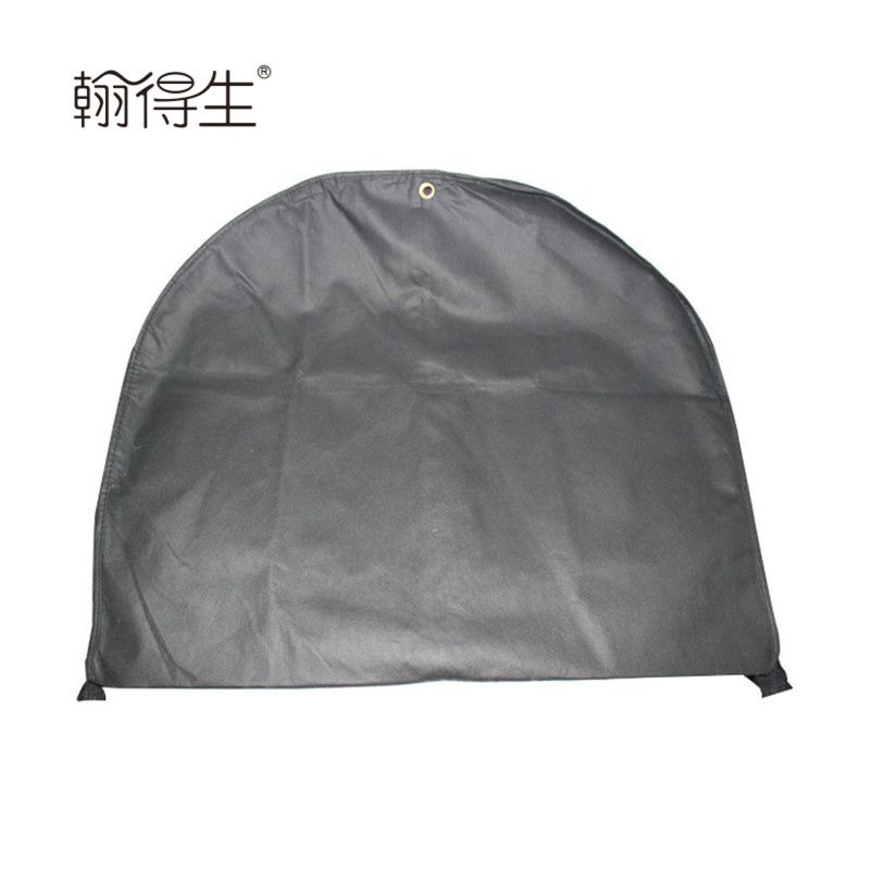 custom made double string non woven foldable double use garment bag
