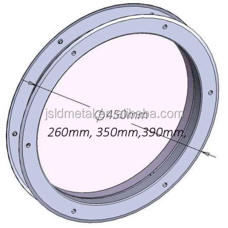 Circular Stainless Steel Door Porthole with 4 mm Round Tempered Glass View PanelOut Diameter  sc 1 st  Alibaba & Circular Stainless Steel Door Porthole With 4 Mm Round Tempered ...