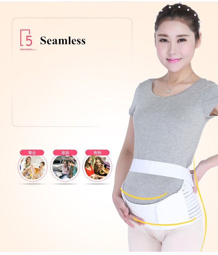 Autumn Winter Breathable Women Maternity Belt Pregnant Postpartum Corset Belt