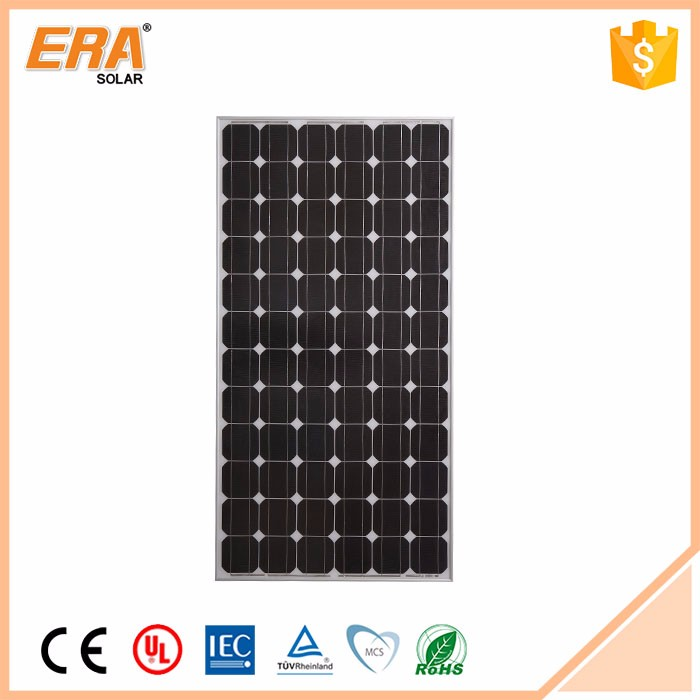 Portable china supplier best price 200w mono solar panels 72 pieces of 125*125 mono cells
