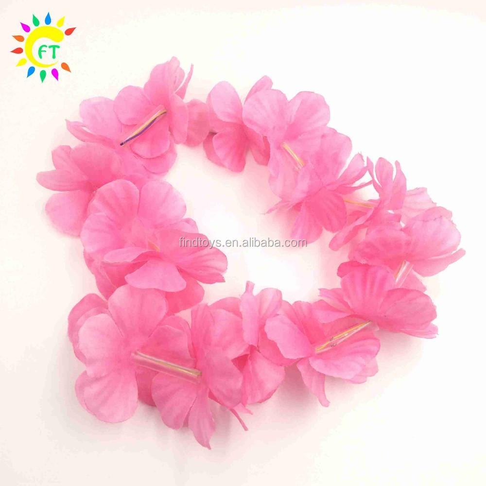 China wholesale blinking led hawaiian flower leis necklace for party china wholesale blinking led hawaiian flower leis necklace for party supplies izmirmasajfo