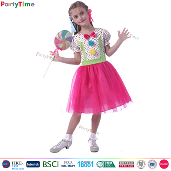 fancy dress sweety girl candy costume