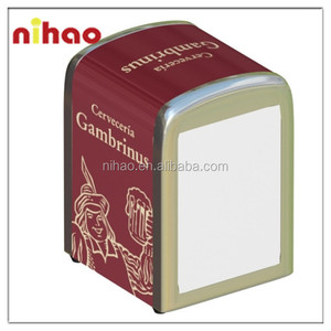 Promotional Metal Tinplate Napkin Dispenser