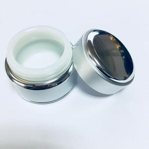 cosmetic skin whitening white and fair face cream jar
