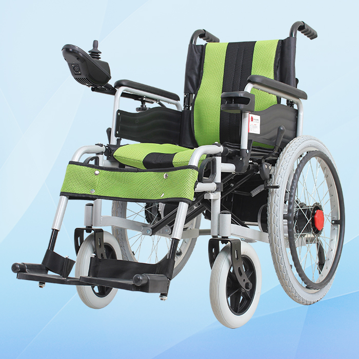 Maidesite power foldable electric wheelchair for sale