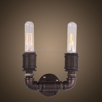 Two Candle Shape Vintage Scone Led Wall Light - Buy Led Wall Light,Wall Mount Led Light,Vintage ...