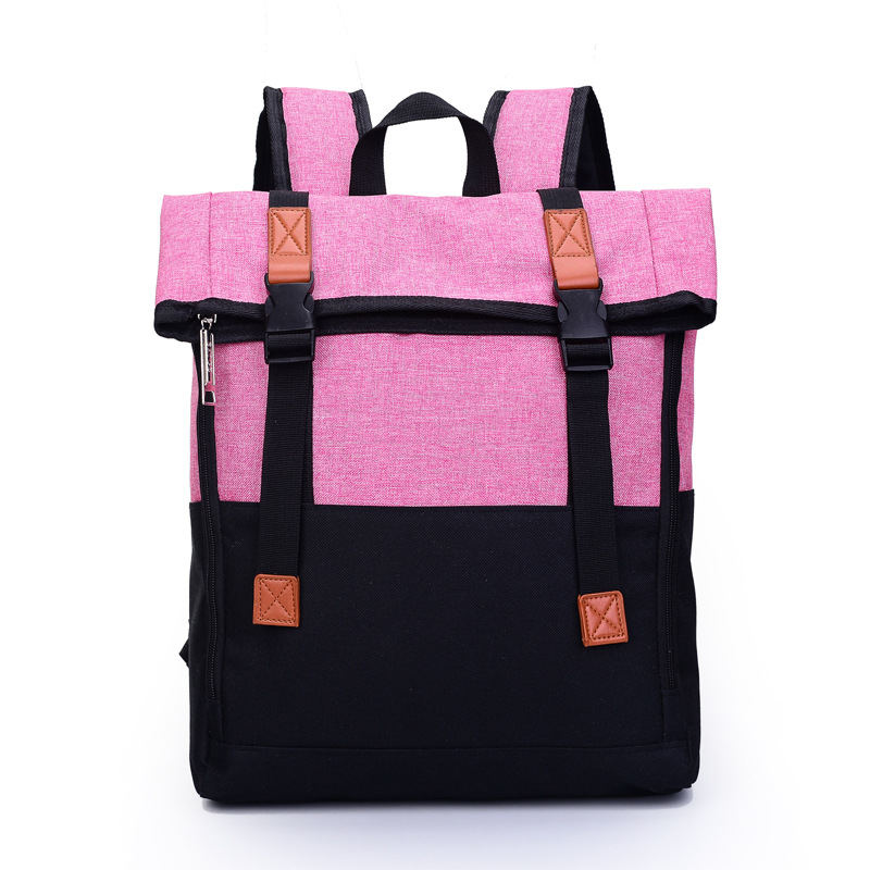Get Quotations · High-end Oxford Backpack 2015 Korean Style Fashion  Contrast Color Backpack School Bags Daily Backpack 6b3911a989b25