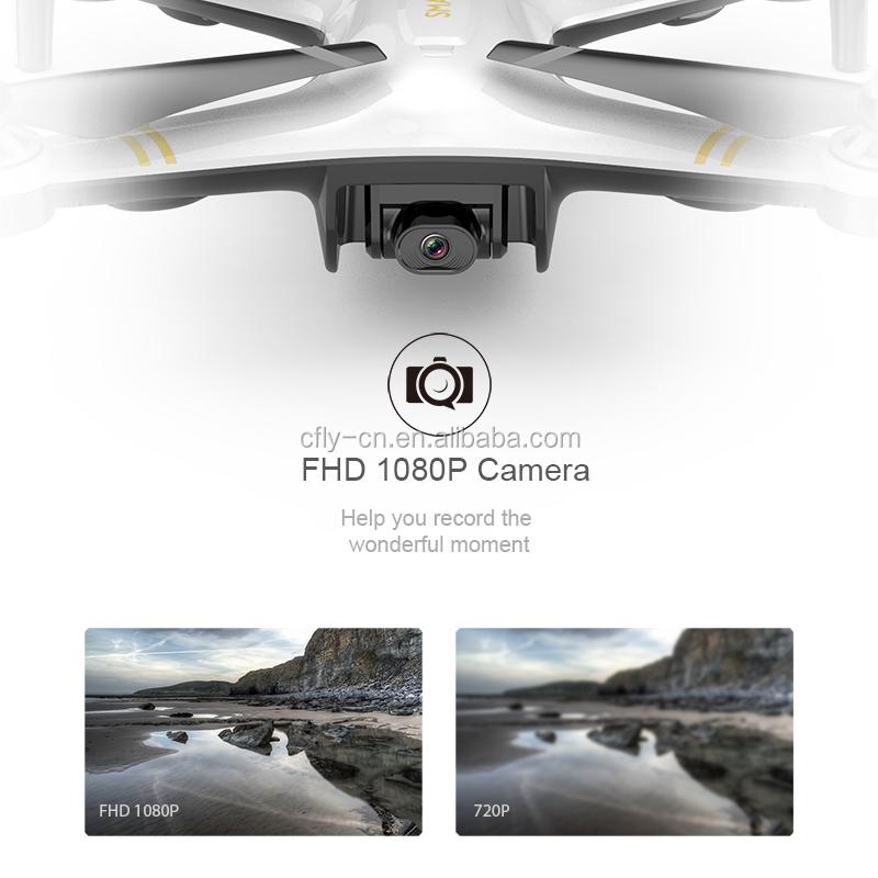 CFLYAI 2.4GHz RC Return Home auto return gps location long battery life 4k HD rc drones with cameras