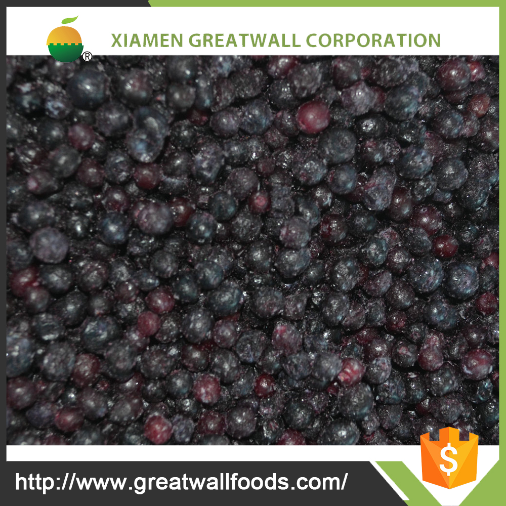 Wholesale New frozen wild bule berry