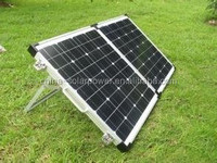 A grade cell top quality portable solar panel battery charger 12v