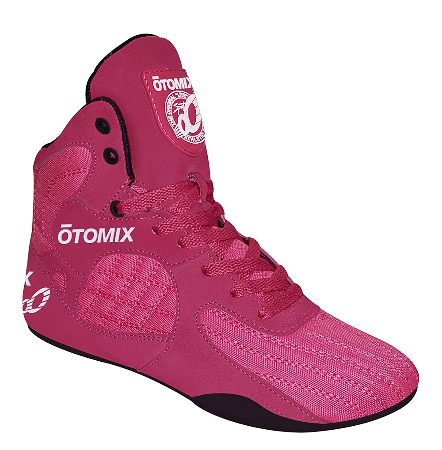 d905850c3010f3 Get Quotations · Otomix Pink   Black Stingray Escape Bodybuilding  Weightlifting MMA   Boxing Shoes
