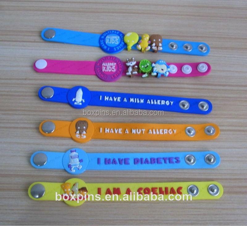 I Have Autism Soft Pvc On Wristband Bracelets For Kids