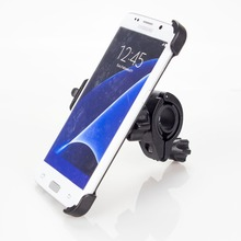 Bike Phone Holder For Samsung Galaxy S7 EDGE Bicycle Handlebar Bracket Clip + Phone Holder Bike Motorcycle Traval Free Shipping