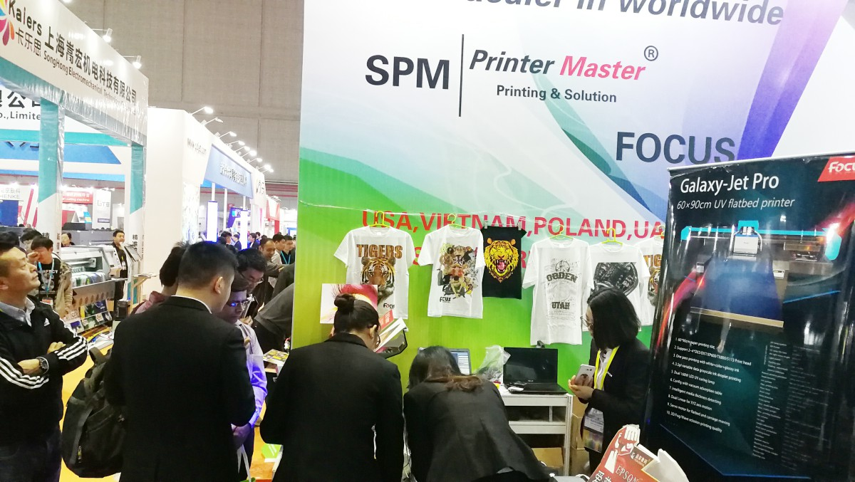 Chinese small character inkjet full color dtg pretreatment polypropylene printing machine 3d shirt printer