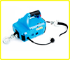 Portable winch for truck , 1000lb portable manual in line winch , AC 110v smallest winch