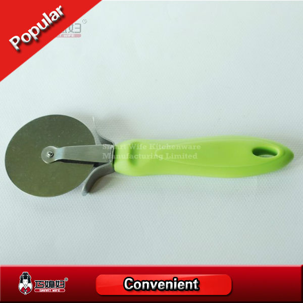 Useful cooking utensils stainless steel pizza knife cutter