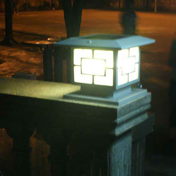 World Hot-selling Solar Led Stone Gate Pillars Export From China ...
