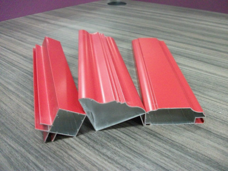 Extruded Imitation Wood Aluminum Profiles In Kitchen Cabinet Design