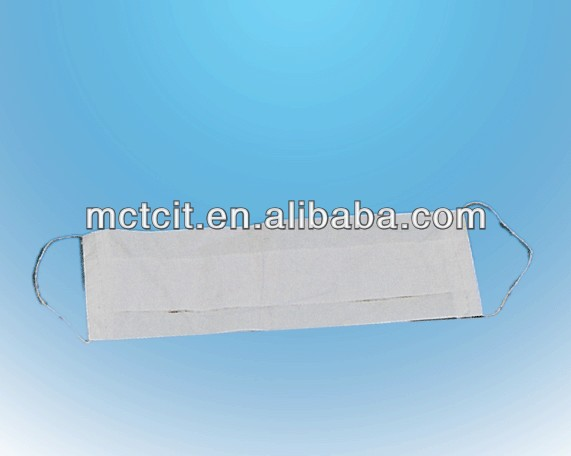 Disposable 1 ply paper face mask/paper face mask with elastic/paper mask